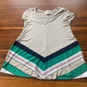 Anthropologie Puella Tunic Shirt